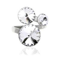 Безразмерное кольцо KOBI RIVOLI 6+8+10 со Swarovski