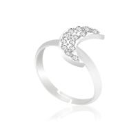 Безразмерное кольцо KOBI Month с кристаллами Swarovski