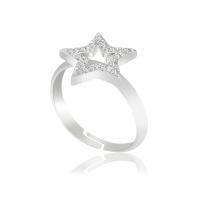 Безразмерное кольцо KOBI Star с кристаллами Swarovski